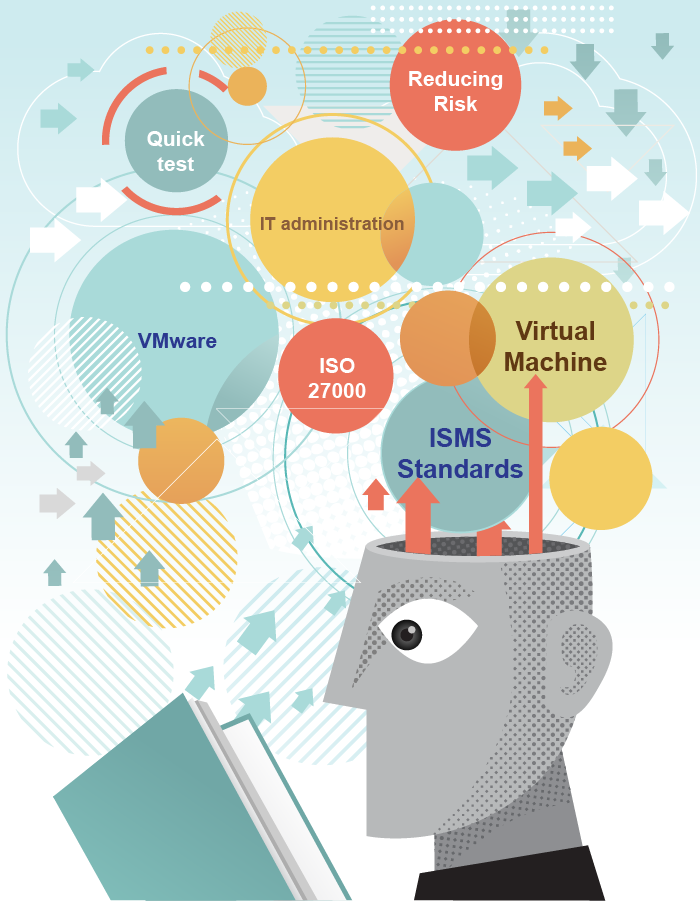 virtualisation of the servers increases efficiency